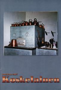 Koskelainen 2007 kansi: Hyhkön kotiseututalon keittiön esineistöä