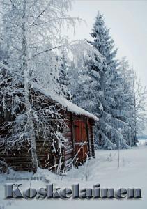 Koskelainen 2011 kansi: Mäkipostin vanha riihi