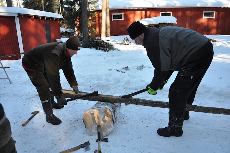 Tällä parilla syntyi valmista, Jari Laine ja Miika Mikkola.